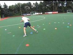 Agility Drills for Field Hockey - YouTube