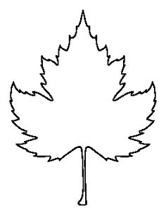 Sycamore Leaf Pattern