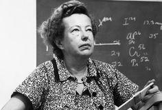 .Maria Mayer (1906 – 1972) A física alemã Marua Mayer foi uma importante cientista nos estudos da matéria e das forças que regem o mundo invisível dos átomos. Ela venceu o prêmio Nobel de Física por sua pesquisa sobre a estrutura atômica.