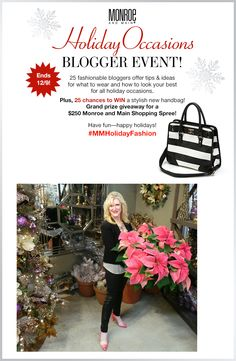 Don't miss this for #MMHolidayFashion and a spectacular Giveaway