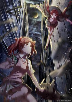 Kuroko Shirai vs Awaki Musujime  「LEVEL4」/「しはくろろ」のイラスト [pixiv]