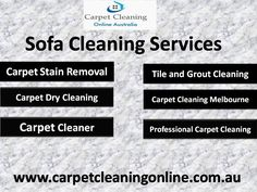 Carpetcleaningonline.com.au is the leading carpet cleaning company in Australia. We offer you Professional sofa cleaning services. Our team has vast experience in sofa cleaning services. Read More: http://www.carpetcleaningonline.com.au/fabric-sofa-cleaning/