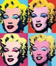 Marilyn, par Andy Warhol - Pop Art