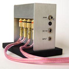 Amp for Handmade Ceramic Speakers