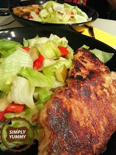 Simply Yummy! – Grilled pork chops with mustard