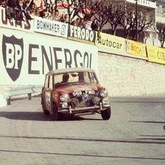 Mini Cooper-A giant killer. Celebrating the 51st anniversary of our first Monte Carlo Rally win.