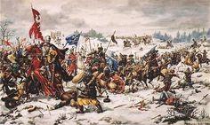 Bitwa pod Turskiem Wielkiem (13 II 1241) - pierwszy najazd Mongołów na Polskę