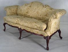 irish sofa posibly irish Upholstered Furniture, Antique Furniture, Blue Sofas, Irish Eyes, Cute Cat Gif, Camels, Georgian, Regency, Shelving
