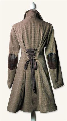 Victorian Trading Company Houndstooth coat.