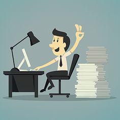 Tipps für morgen: Der perfekte Tag im Büro  http://karrierebibel.de/sieben-bis-sechs-der-perfekte-burotag/