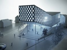 ARCHITECTURE and DESIGN: Cornerstone - a mixed use building project. Vanløse, Denmark
