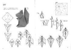 reindeer origami instructions - Google zoeken