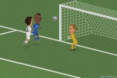 Balotelli's match winning header v England