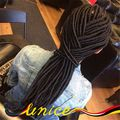 New Arrival Synthetic Faux Locs Crochet Braids High Quality Free Shipping Wholesale Price Fauxlocs Crochet Hair Extensions