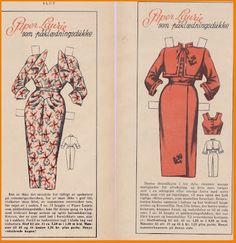 Ingrids Påklædningsdukker: Tempo 1953 Piper Laurie