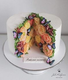 Cake Decorating 744712488371331641 - Wouldn't this be neat for a bridal shower? – Wouldn't this be neat for a bridal shower? Source by marinajorgecarmelo – Source by Pretty Cakes, Cute Cakes, Beautiful Cakes, Amazing Cakes, Beautiful Cake Designs, Cake Recipes, Dessert Recipes, Cake Decorating Techniques, Fancy Cakes