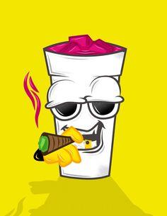 #vectorart ##vector #design #trazo #drug #stoner #codeine