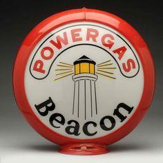 """Powergas Beacon 13-1/2"""" Globe Lenses."""
