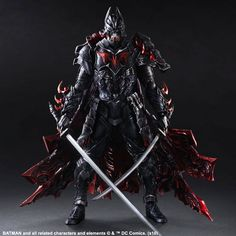 Square Enix DC Comics Variant Play Arts Kai: Batman Timeless Bushido Action Figure detailed costume Depicts Batman as a samurai Includes display stand and interchangeable hand parts❤Thank❤You✿I❤❤❤You❤ Batman Comics, Batman Art, Dc Comics, Superman, Batman Ninja, Batman Action Figures, Custom Action Figures, Comic Book Heroes, Comic Books