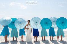 Florida Beach wedding   portrayable photography