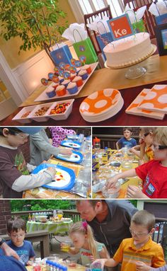 science birthday party ~ http://www.thecelebrationshoppe.com/themes/view/science