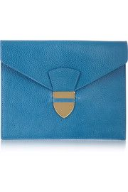 Sophie Hulme Textured-leather clutch
