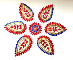 Kundan Rangoli Antique Tilak Pattern by KundanArt on Etsy