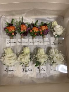Boutonnieres, Groom, Wedding, Mariage, Grooms, Weddings
