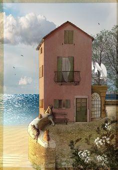 "myelicia: "" La maison de la mer / Bettina Baldassari """