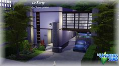 Le Kerty house by chipie-cyrano at L'UniverSims via Sims 4 Updates