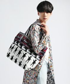 mintdesigns(ミントデザインズ)の【ANREALAGE×mintdesigns】TOTE BAG(トートバッグ)|その他1 #japanesefashion
