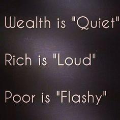 Are you Nouveau Rich?