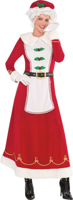Adult Mrs. Santa Claus Costume - Party City