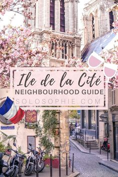 Your ultimate Parisian guide and Itinerary- Paris guide to Île de la Cité, things to do in Paris, France! Notre Dame, pretty café, Sainte Chapelle etc.