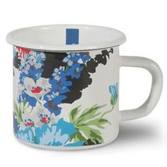 Decorated in the Joules's Floral design these enamel mugs will add a splash of colour to the garden, picnic hamper or kitchen. Joules Enamel Mug Floral - Harrod Horticultural http://www.harrodhorticultural.com/joules-enamel-mug-floral-pid9358.html