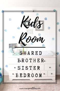 I like the pokodots Shared bedroom boy/girl. Best shared bedroom idea for boys and girls Cool Bedrooms For Boys, Bedroom For Girls Kids, Shared Bedrooms, Kid Bedrooms, Kids Rooms, Childrens Bedroom, Bunk Rooms, Sister Bedroom, Boy Girl Bedroom
