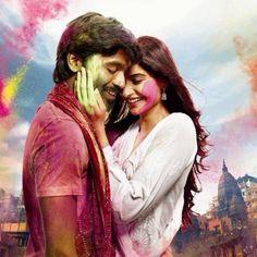 First look poster of 'Raanjhnaa' catch Sonam Kapoor, Dhanush playing Holi in 'Raanjhnaa'