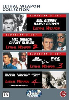 Dødbringende Våben - Boks (4 disc) (DVD)  Kr. 99,00  http://cdon.dk/film/d%c3%b8dbringende_v%c3%a5ben_-_boks_(4_disc)-14306490#
