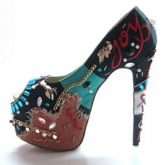 Christian Louboutin 160 Peep Toe Pumps A [PMS001] - $145.00 : Designershoes-shopping, World collection of Top Designer high heel UP TO 90% OFF!