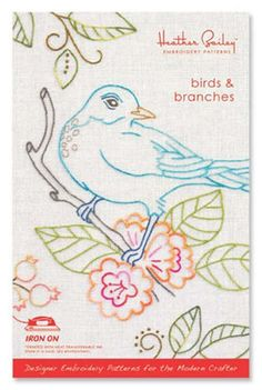 Birds and Branches #beginner #birds #branches #design #embroidery…