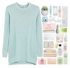 """""""LIKE THIS SET TO BE ON MY NEW SPRING TAGLIST"""" by snowflakes-in-summer ❤ liked on Polyvore featuring Acne Studios, philosophy, Laura Mercier, Miss Selfridge, Brahms Mount, HAY, Fujifilm, Mamonde, NARS Cosmetics and John Lewis"""