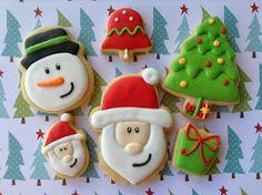 Natal 2013, cookies, biscoitos decorados | by Cookie Design