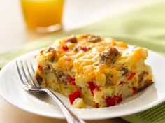 Gluten Free Impossibly Easy Breakfast Bake Recipe. I would also find a dairy substitute for the milk/cheese