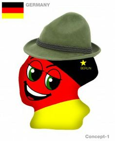 New Germany Plushky Design #kids #toys #global #culture #multicultural #globalkids #Germany