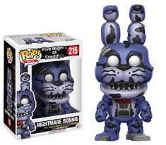 ace toy ko pop games five nights at freddy's fnaf: nightmare bonnie vinyl [figure] by funko - item is new and in original packaging. Five Nights At Freddy's, Funko Pop Figures, Vinyl Figures, Action Figures, Animatronic Fnaf, Freddy Toys, Otaku, Freddy's Nightmares, Pop Toys