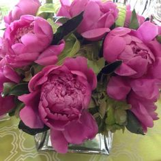 Peonies With Green Hydrangeas Made By Blossoms Floral Designs in Houston, Texas