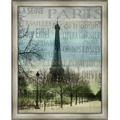 Big Fish Paris II Wall Art ($257) ❤ liked on Polyvore featuring home, home decor, wall art, backgrounds, paris, art, pictures, borders, picture frame and french wall art