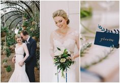 Sophisticated Navy Gold Wedding