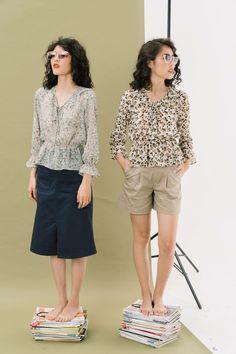Bermuda Shorts, Short Dresses, Shirts, Women, Fashion, Short Gowns, Moda, Fashion Styles, Fashion Illustrations
