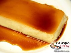 This is Eggless Leche Flan. Leche Flan is a dessert enjoyed by many people, not just Filipinos. In this version of the flan we omit the egg yolk for lesser calories and cholesterol-free dessert. It is still just as delicious as the original and you can enjoy it guilt-free.     RECIPE: http://www.filipinochow.com/eggless-leche-flan/